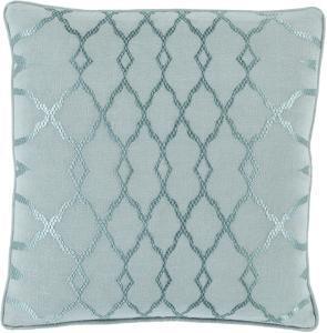 Lydia Pillow Cover - Aqua