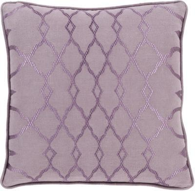 Lydia Poly Fill Pillow - Mauve