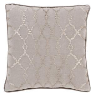 Lydia Poly Fill Pillow - Mocha