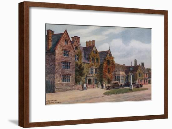 Lygon Arms, Broadway, Worcs-Alfred Robert Quinton-Framed Giclee Print