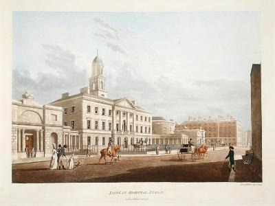 Lying-In Hospital, Dublin, 1795-James Malton-Giclee Print