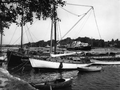 Lymington Harbour-J. Chettlburgh-Photographic Print