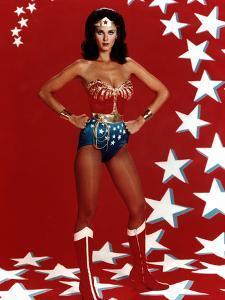 "Lynda Carter. ""Wonder Woman"" [1975], Directed by Alan Crosland."
