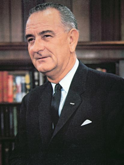 Lyndon B. Johnson--Photographic Print