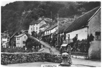Lynmouth, Devon, England, 1936--Giclee Print