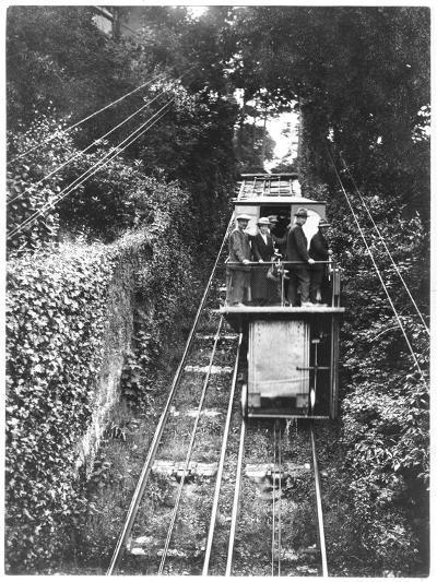 Lynmouth Lift Devon--Photographic Print