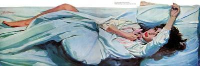 """A Night For Love - Saturday Evening Post """"Leading Ladies"""", November 23, 1957 pg.40"""