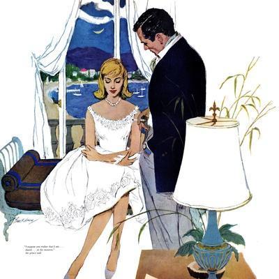 "Cinderella Dress  - Saturday Evening Post ""Leading Ladies"", September 17, 1960 pg.22"