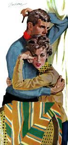 "The Selfish Kind of Love - Saturday Evening Post ""Leading Ladies"", March 30, 1957 pg.31 by Lynn Buckham"