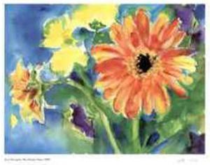 Big Orange Daisy by Lynn Donoghue