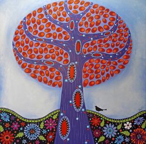 Under the Apple Tree by Lynn Hughes