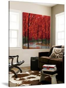 Autumn Stream by Lynn Krause