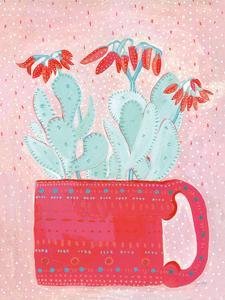 Coral Cuppa by Lynn Mack