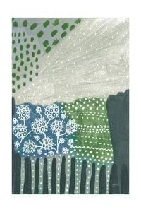 Salt Shrub I Green by Lynn Mack