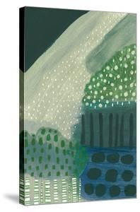 Salt Shrub III Green by Lynn Mack