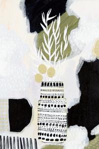 Tribal Still Life BWG by Lynn Mack