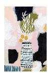 Tribal Study Coral-Lynn Mack-Art Print
