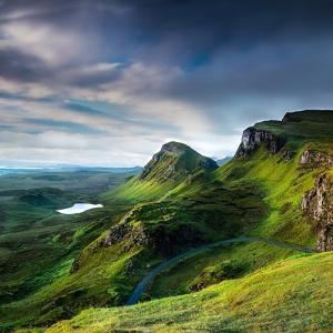 Summer on the Quiraing by Lynne Douglas