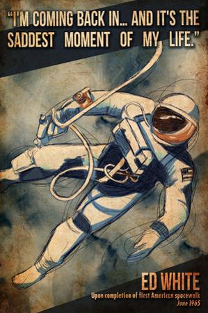 Ed White First Space Walk by Lynx Art Collection