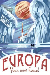 Europa Your New Home! by Lynx Art Collection