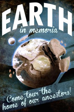 Future Earth, Tour the Home of Our Ancestors by Lynx Art Collection