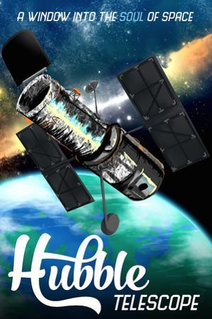 Hubble Telescope Travel by Lynx Art Collection