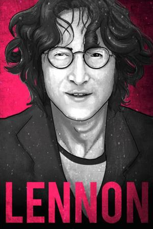 John Lennon Illustration by Lynx Art Collection