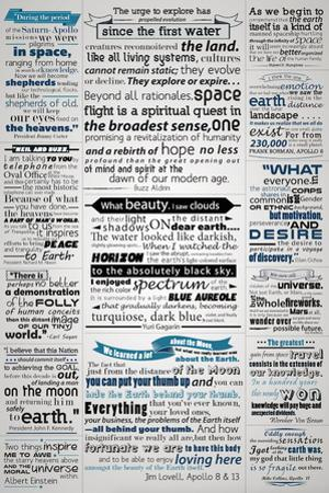 Space, Science, and Astronomy Historical Quotes by Lynx Art Collection
