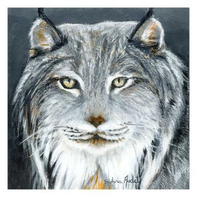 Lynx-Sylvia Audet-Art Print