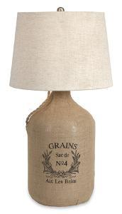 Lyon Wine Jug Table Lamp