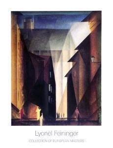 Barfusserkirche , 1924 by Lyonel Feininger