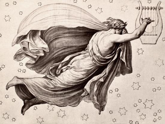 Lyre Of Orpheus-Eduard Ritter Von Engerth-Giclee Print