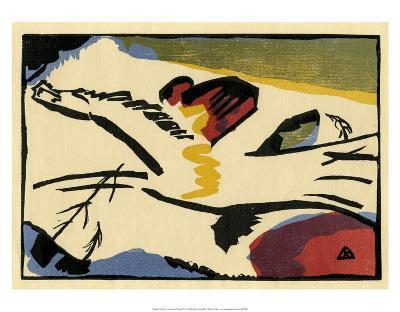 Lyrisches Presse (1911)-Wassily Kandinsky-Art Print