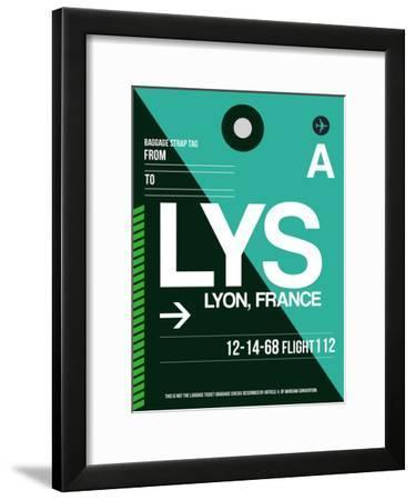LYS Lyon Luggage Tag II-NaxArt-Framed Art Print