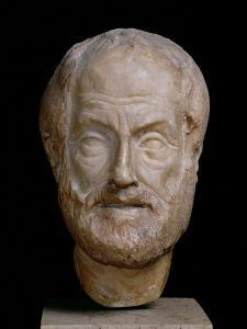 Aristotle Roman Copy of a Greek Original by Lysippos