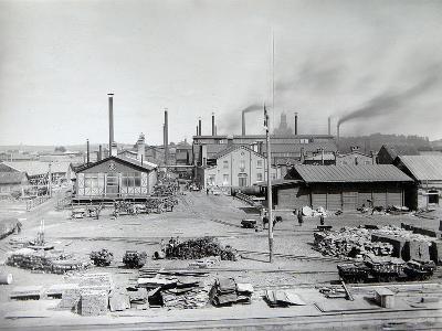 Lysva Iron Foundry, Russia, 1900s--Photographic Print
