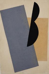Composition (Blue-Yellow-Blac) by Lyubov Sergeyevna Popova