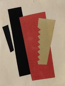 Composition (Red-Black-Gol) by Lyubov Sergeyevna Popova