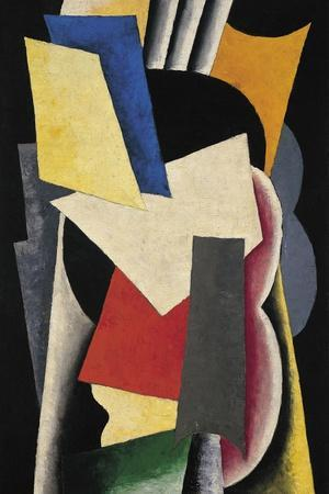 Painterly Architectonic (Still Life with Instrument), 1915