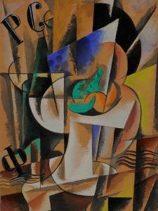 Painterly Composition, 1921 by Lyubov Sergeyevna Popova