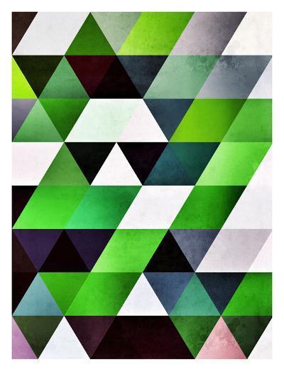 lyzzyrrd-Spires-Art Print