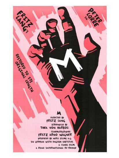 M, 1931--Art Print