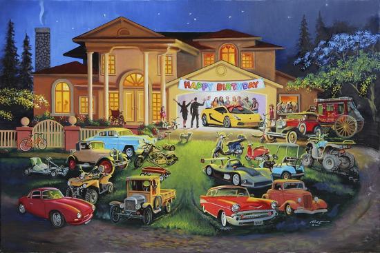 M-425-HR-FRIENDS-D. Rusty Rust-Giclee Print