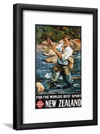 For the World's Best Sport, New Zealand Poster