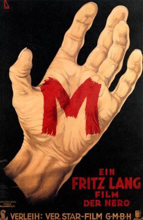 M, (AKA M - Eine Stadt Sucht Einen Morder), Poster, 1931