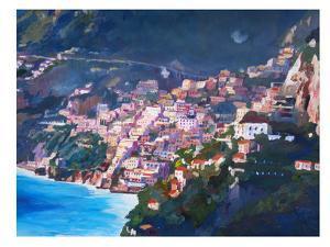 Amalfi Coast I by M Bleichner