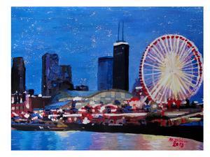 Chicago Wheel by M Bleichner