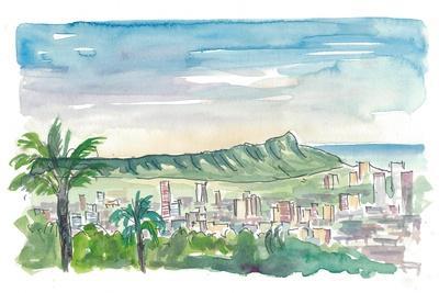 Honolulu Hawaii Aloha And Hula City