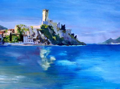 Malcesine With Castello Scaligero2 by M Bleichner
