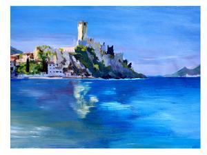 Malcesine With Castello Scaligero2 by M Bleichner